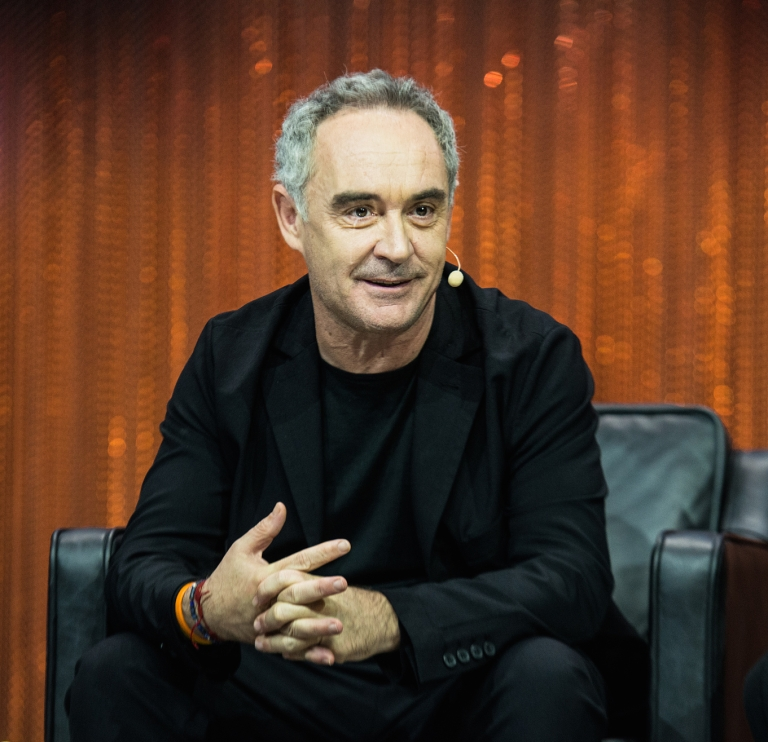 Ferran Adria. Photo by LE WEB PARIS.