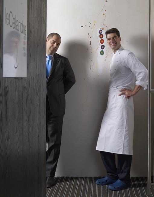 Raffaele and Massimiliano Alajmo - Photo by Mario Reggiani