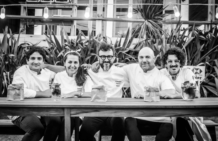 The Argentinian chefs. Photo: courtesy of Mauro Colagreco
