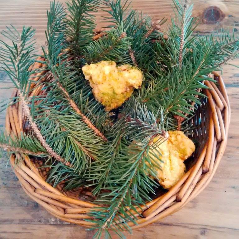 Buttermilk Fried Chicken & Pine Salt