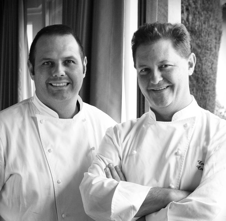 Roberto and Enrico Cerea. Photo: courtesy of Enrico Cerea.