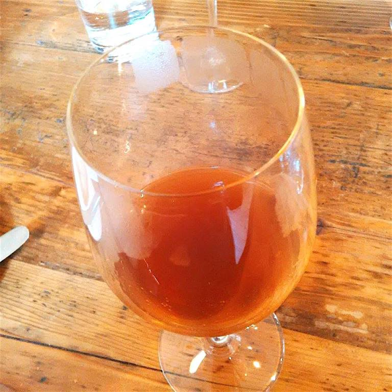 Duck consommé with 100 years old Madeira