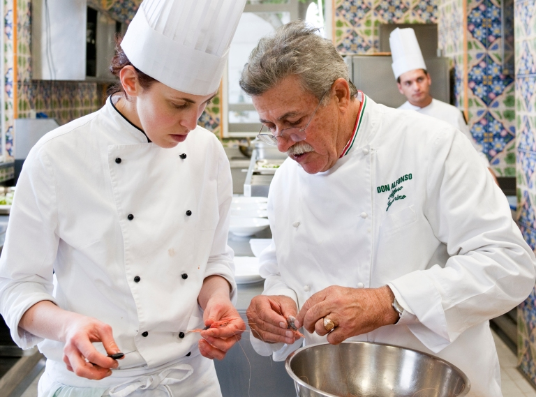 Chef Alfonso Iaccarino. Photo: Stefano Scata'