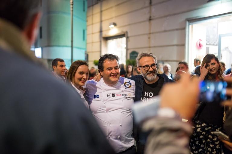 Gennaro Esposito and Massimo Bottura