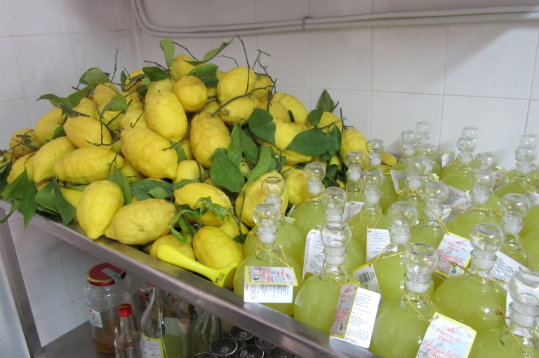 Lemons and limoncello