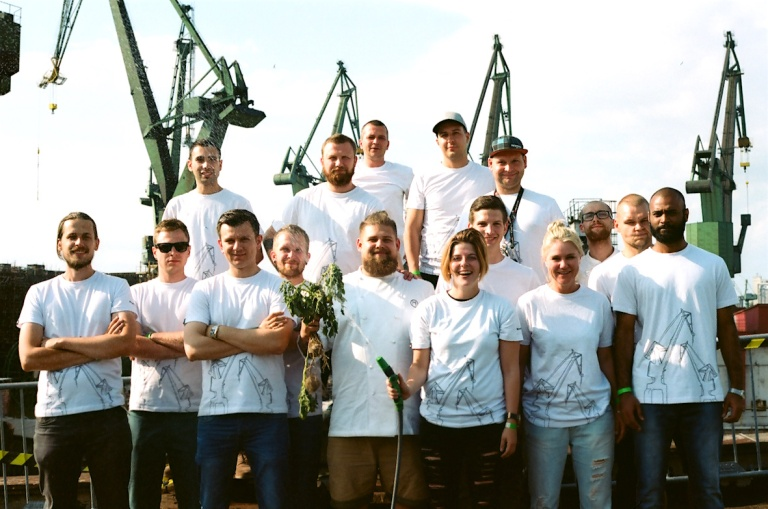 The Commis Made team. Photo: Michael Anaya.