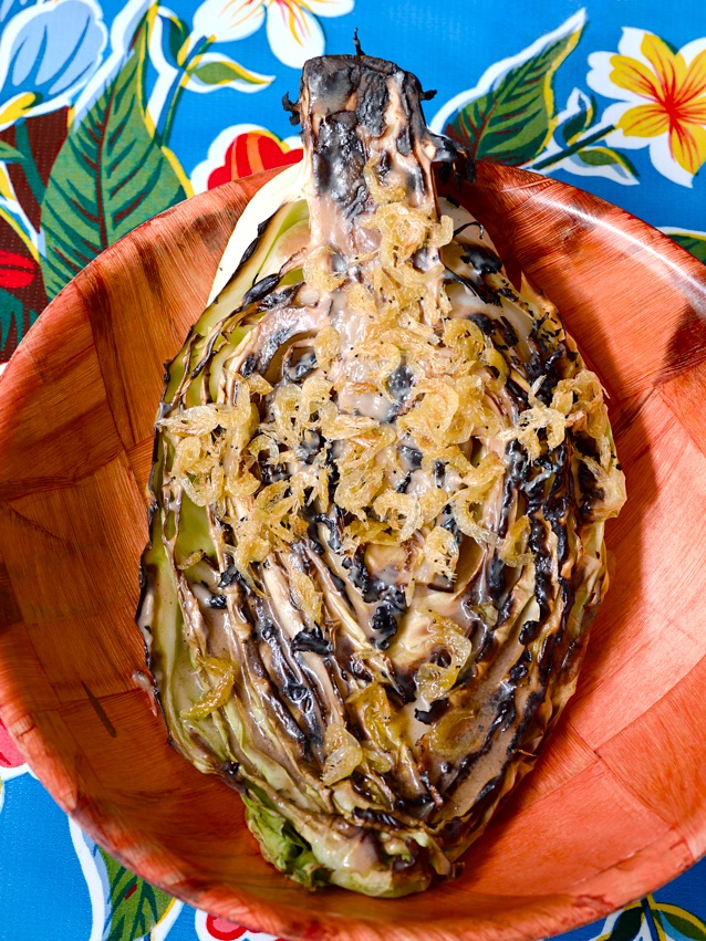 Hispi cabbage by Lee Tiernan