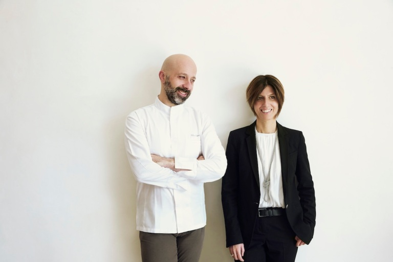 Niko and Cristiana Romito. Photo: Alberto Zanetti