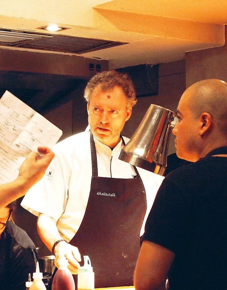 Sven at work. Photo: Val Burana